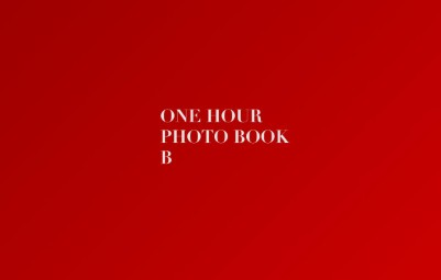 One Hour Photo Book B