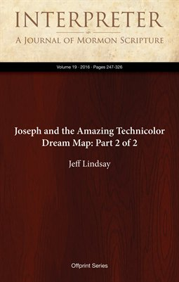 Joseph and the Amazing Technicolor Dream Map: Part 2 of 2