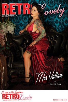 Mrs. Vallan Cover Poster
