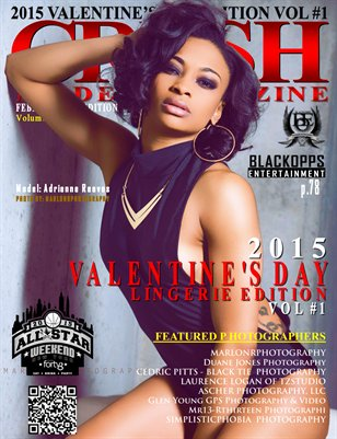 CRUSH MODEL MAGAZINE 2015 VALENTINE'S DAY EDITION