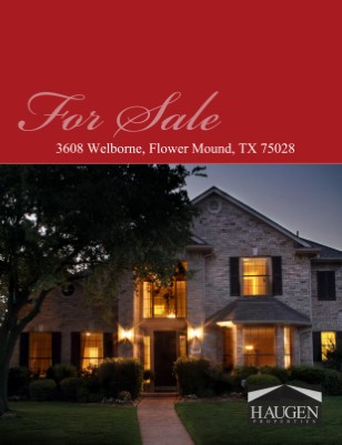 Haugen Properties - 3608 Welborne Lane, Flower Mound, Texas 75028