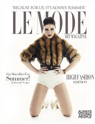 Le Mode Art Magazine | Preview | High Fashion Edition 2015