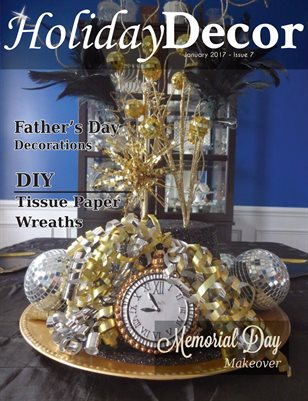 Holiday Decor Magazine - January 2017