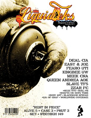 Liquidteks Magazine Issue One, Volume Two