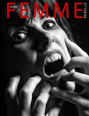 Femme Rebelle Magazine October 2020 - BOOK 1 Drew Cunningham Cover