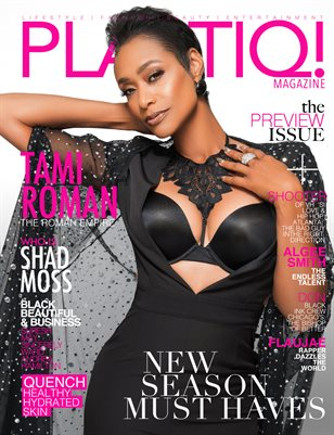 "Plastiq! Magazine the PREVIEW Issue ""TAMI ROMAN"""