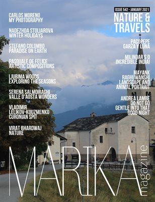 MARIKA MAGAZINE NATURE & TRAVELS (ISSUE 542 - January)