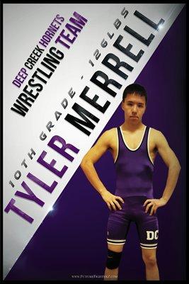 Tyler Merrell DC #1 Poster