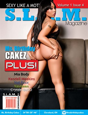 Vol 1 Issue 4 - Ms. Birthday Cakez Cover