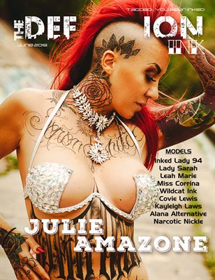 TDM:Ink Cover - Julie Amazone June 2019
