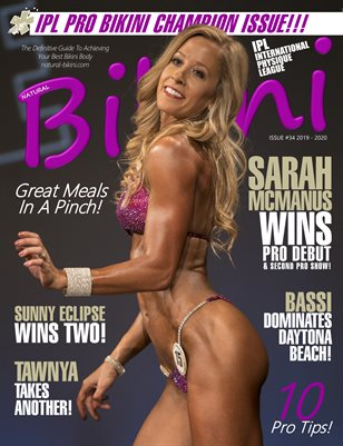 Natural Bikini Magazine Issue #34 - 2019/2020 - Cover: Sarah McManus