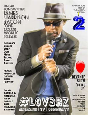 #LOV3RZ Magazine #24 January 2018 - 2 Year Anniversary Edition