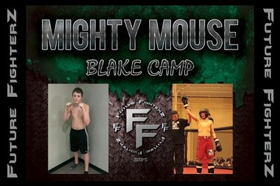 Blake MIGHTY MOUSE Camp Poster
