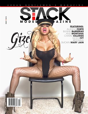 Stack Models Magazine Issue 19 Gizel Cover