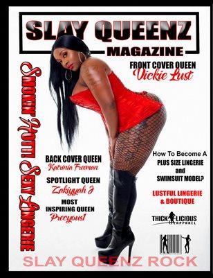 Slay Queenz Magazine Smokin' Hott! Sexy Lingerie