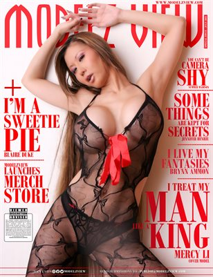 MODELZ VIEW JULY 2021 - SPECIAL ISSUE - COVER MODEL : MERCY LI