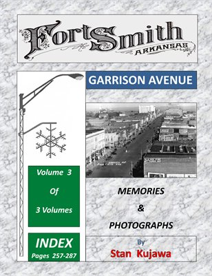 GARRISON AVENUE INDEX  VOL. 3