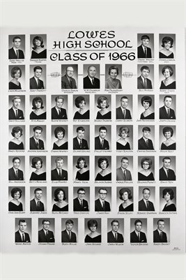 1966 Lowes High School Seniors, Graves County, Kentucky