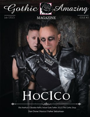 Gothic And Amazing Magazine #3 - Hocico version