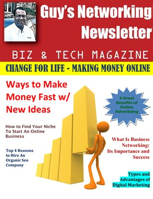 Guy's Networking Newsletter Biz and Tech Magazine August Issue