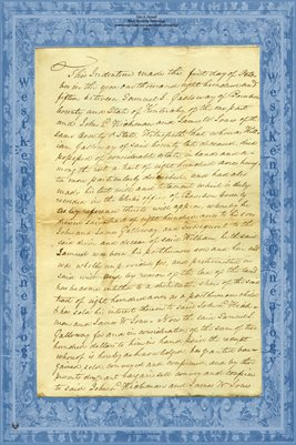 (PAGE 1-2) 1815 Deed, Samuel J. Galloway to John L. Hickman & James W. Jones, Bourbon County, Kentucky