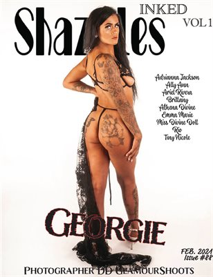 Shazzles INKED Issue #88 VOL 1. Cover Model Georgie