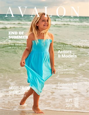 Avalon Model + Talent Magazine | September 2017