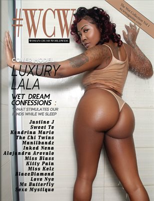 WCW Magazine Wet Collection Luxury Lala Cover