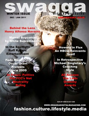 First Year Anniversary Issue Winter/Spring 2011