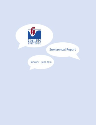 Semiannual Report: January - June 2010