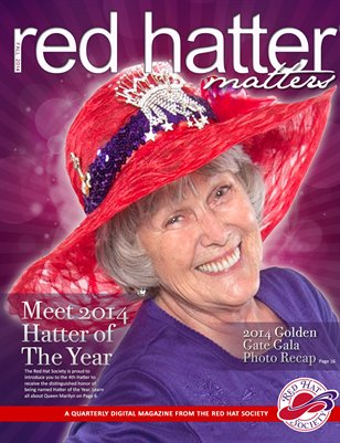 Red Hatter Matters, 2014 Fall issue