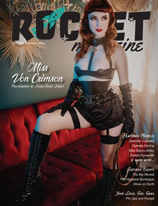 April 2020: Burlesque Babes (Cover 2 of 2)