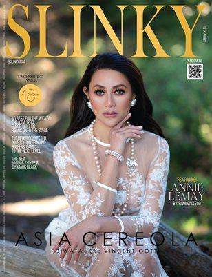 SLINKY Mag - ASIA CEREOLA - April/2021 - PLPG GLOBAL MEDIA