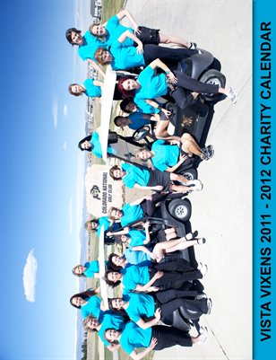 Vista Vixens Charity Calendar 2011-2012