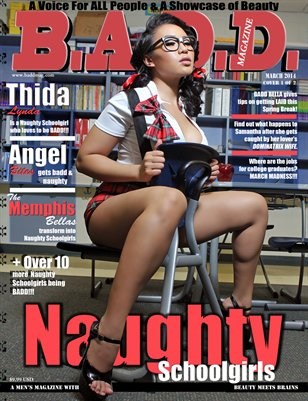 B.A.D.D. Magazine: Naughty Schoolgirls (Thida Lynda Cover)