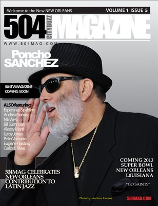 Poncho Sanchez Issue #5 Latin Jazz