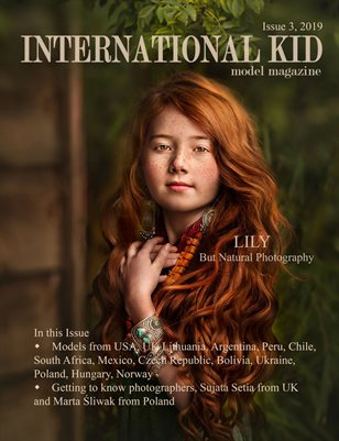 International Kid Model Magazine Issue #3