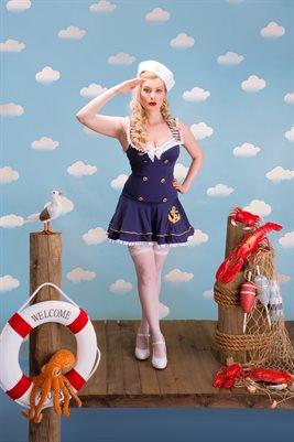 Lily Rosado Sailor Pinup Poster 2