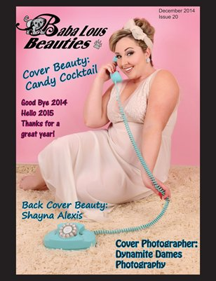 Baba Lous Beauties- Anything Pin Up Issue 20: December 2014