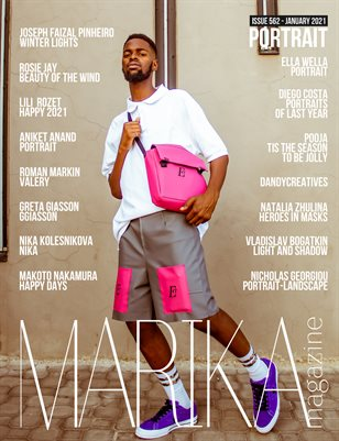 MARIKA MAGAZINE PORTRAIT (ISSUE 562 - January)