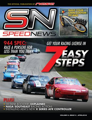 NASA Speed News April Issue 2016