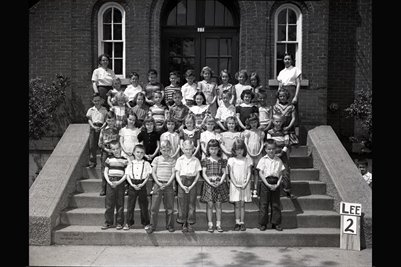 2nd Grade, May 9, 1951 Lee School, Graves County, Kentucky