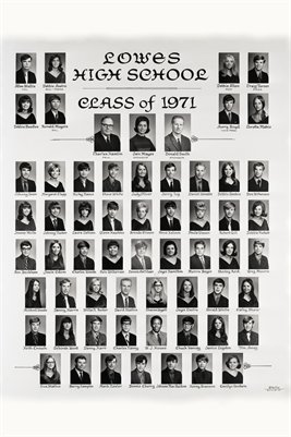 Class of 1971, Lowes High School, Graves County, Kentucky