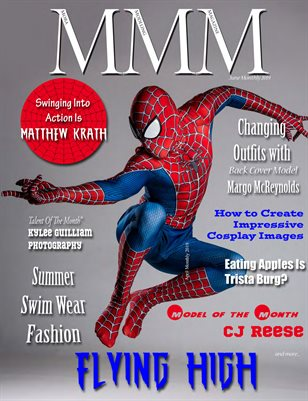 """Flying High"" June Cosplay Monthly"