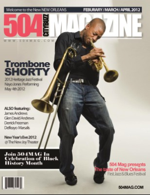 Trombone Shorty Feature Issue 3