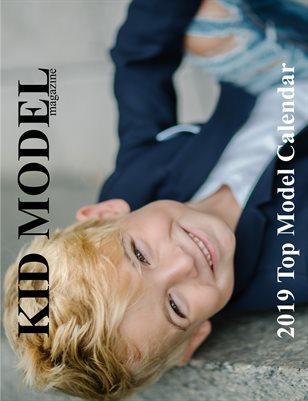 Kid Model magazine Top Model 2019 Calendar