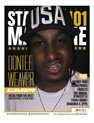 DONTEE WEAVER - Vol.1 - October 2016 Issue