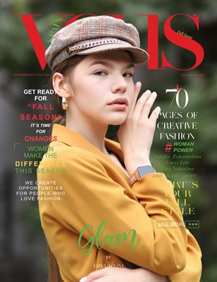 VOUS Magazine   The September Fashion & Beauty Edition   Vol.6   2021
