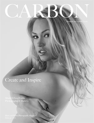Carbon Black and White Photography Magazine - Art Nude and Boudoir Edition 39