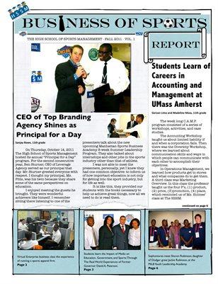 HSSM Business of Sports Report